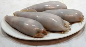 Mực ống nhồi thịt