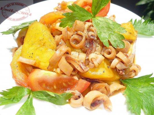 Mực khô xào chua ngọt - món ăn ngon cho bữa tối