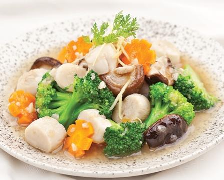Sò điệp xào bông cải thơm ngon, bổ dưỡng