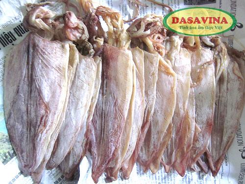 Mực khô loại 1 thương hiệu Dasavina chất lượng thơm ngon